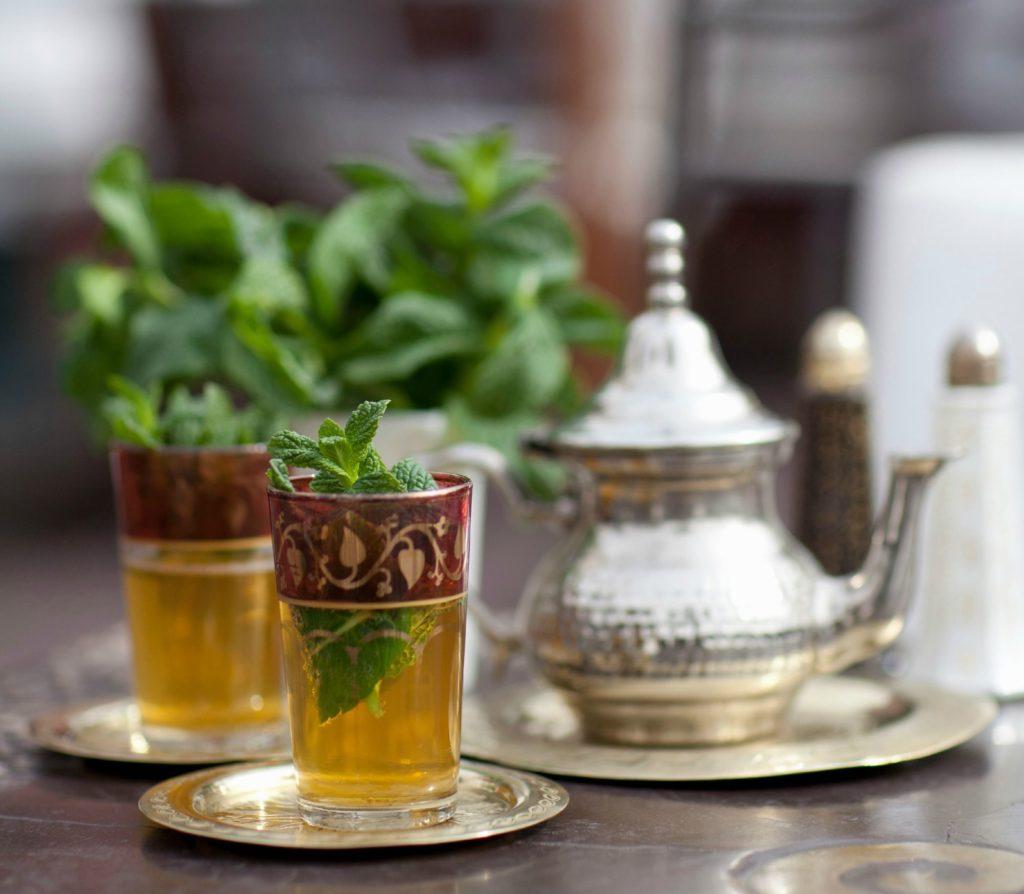 Thé à la menthe au restaurant de La Mosquée de Paris